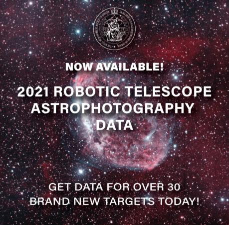 Robotic Telescope Data 2021