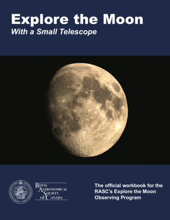 Explore the Moon With a Small Telescope (Workbook)